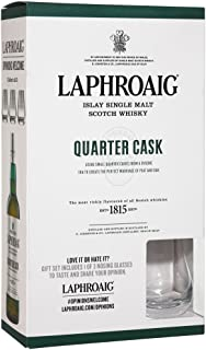 Laphroaig Quarter Cask Islay Single Malt 0,7 Liter  Nosing Glas