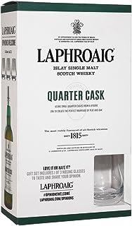 Laphroaig Quarter Cask Islay Single Malt 0,7 Liter  Nosing Glas