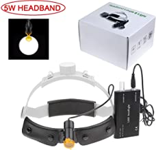Aries Outlets 5W Dental LED Surgery Headlight Headband ENT Specific Headlamp DY-007