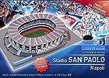 VILLAMAINAEDITORIA Puzzle 3D Stadio San Paolo di Napoli 127 Pezzi