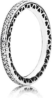 Pandora Women's Sterling Silver Cubic Zirconia 925 Silver Ring