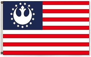 Flylong Rebel Alliance USA Stars & Stripes Flag Banner 3X5 Feet
