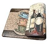 Art3d Premium Reversible Memory Foam Kitchen Mat Anti-Fatigue Chef Mat, 18' X 30'