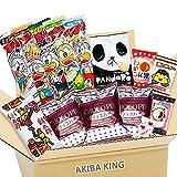 Choco Pie & Japanischer Snack DAGASHI mit AKIBA KING Aufkleber -
