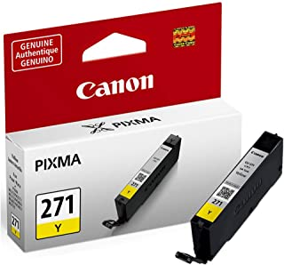 Canon 0393C001 (CLI-271) Ink Cartridge, Yellow - in Retail Packaging