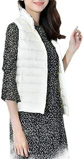 Macondoo Womens Ultra Light Puffer Vest Stand Collar Packable Down Vest Coat