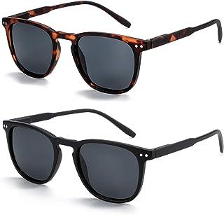 Polarized Sunglasses for Women Men: Retro Shades Round |...