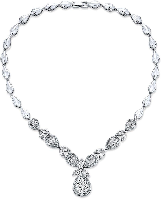Vintage Style Fashion Bridal Regular dealer Multi Leaf AAA C Starburst Max 40% OFF Marquise