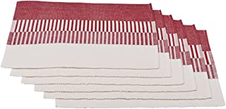 storeindya White Kitchen Towels & Cotton Dish Cloth Napkins Tea Towels Water Absorbent Machine Washable Drying Cleaning Everyday Use Christmas Thanksgiving Gift, Set of 12