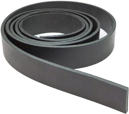 Springfield Leather Company Black Latigo Leather Strip 3//4x72