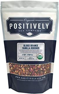 Positively Tea Company, Organic Blood Orange Vanilla Rooibos Tea, Loose Leaf, 16 oz. Bag