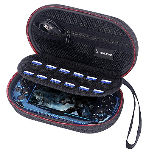 Smatree P100L Carrying Case Compatible for PS Vita 1000, PSV 2000,PSP 3000 with Cover (Console,Accessories and Cover NOT Included)