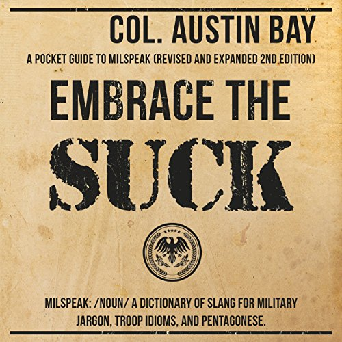 Embrace the Suck audiobook cover art