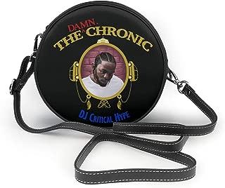 Dr Dre The Chronic Small Crossbody Ms. Round Shoulder Bag Fashion Lady Crossbody Wallet And Handbag Coffee