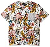 Sean John Men's Print Tee, Floral White, L