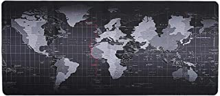 Margoun Anti-Skid Mouse pad Extended Large World Map Foldable Keyboard Mouse Pad