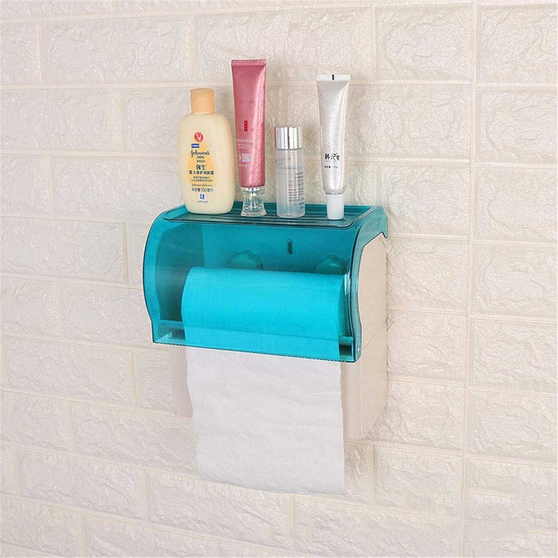 70% de descuento Portarrollos de papel higiénico, caja de de de papel Colgadores de toallas montados en la parojo Portapapeles de papel higiénico Soportes de rieles toallas de mano para bao y cocina, Impermeable, B  orden ahora disfrutar de gran descuento