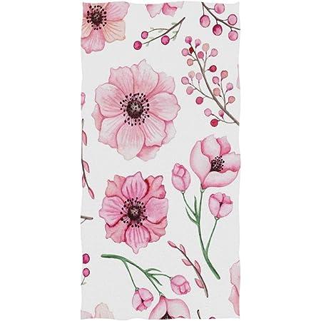 Red Poppy Flower On A Meadow Bath Towel Throw Blanket Beach Towel 64 Lx32 W HGOD DESIGNS Bath Towel Flower