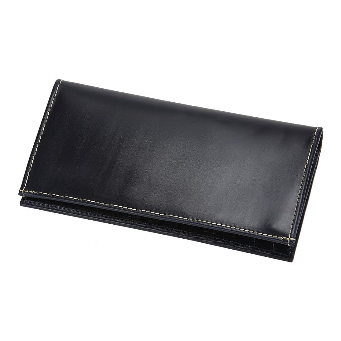 出口消費する派手[ ホワイトハウスコックス ] Whitehouse Cox Fold Tab Purse Navy ネイビー S9697 財布 [並行輸入品]