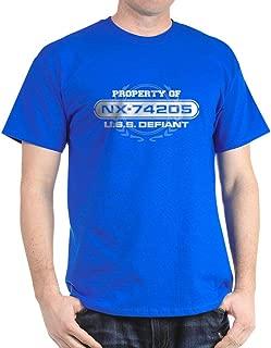 CafePress Property of NX-74205 T-Shirt Cotton T-Shirt