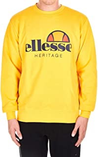 ELLESSE Luxury Fashion Mens M211189 Yellow Sweatshirt | Fall Winter 19