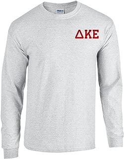 Delta Kappa Epsilon DKE World Famous Crest Long Sleeve T-Shirt