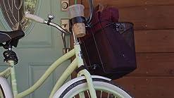 Nantucket tissés à la main Lightship ovale naturel tissée main vélo cycle panier