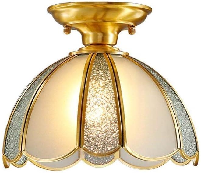 25% OFF sararui Ceiling Light Max 55% OFF Copper Lamp Ai Porch Corridor