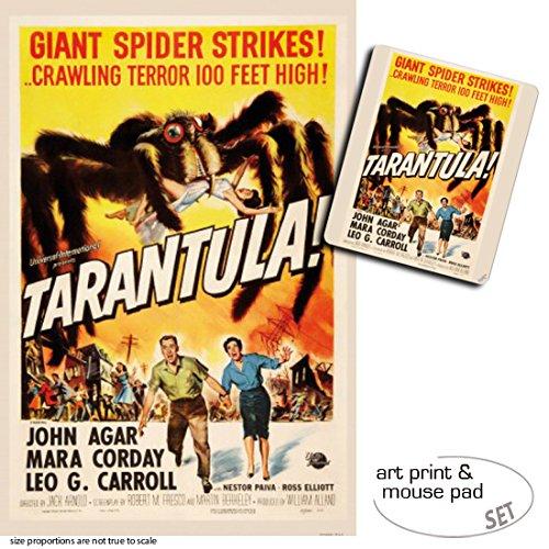 1art1 Tarántula, Tarántula, 1955 1 Póster Impresión Artística (120x80 cm) + 1 Alfombrilla para Ratón (23x19 cm) Set Regalo