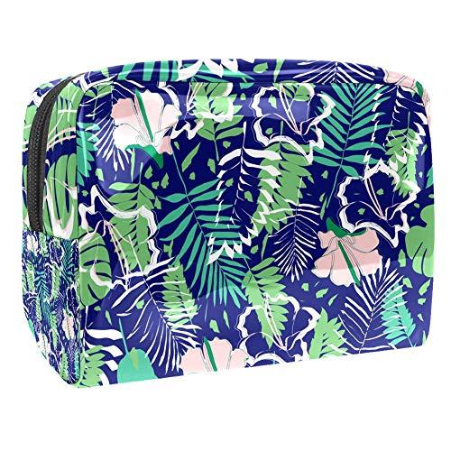 Bolsa de Aseo Neceser Buganvilla Tropical Hombre y Mujeres Impermeable Neceser de Viaje Bolsa de Cosmético Viajes Vacaciones Fiesta Elementos Esenciales 18.5x7.5x13cm