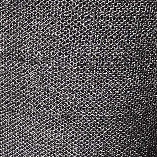 Kratzbaumland Sisalgewebe für Kratzbäume und Kratzbretter/Matten (versch. Längen und Farben) (0,5 Meter - schwarz)