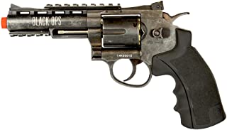 Black Ops Exterminator Revolver Airsoft Pistol