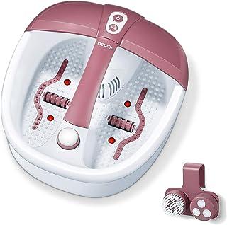 Beurer FB 35 voetenbad met vibratie- en bruismassage voor uw voeten, 41 x 38 x 17 cm