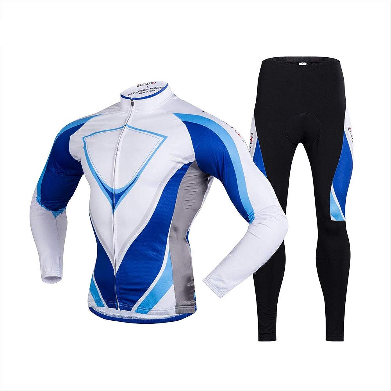 GUIGUI 2019 Bicycle Long Sleeve Cycling Suit Tops + Pants Ergonomic Design 3D Gel Cushion Skin-Friendly Soft Sportswear