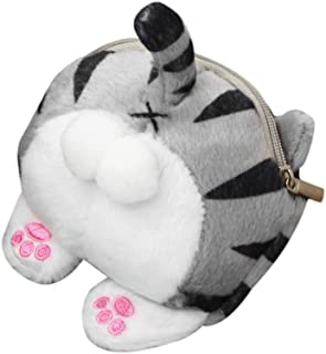Hot Cute Cat Butt Tail Plush Coin Purse Change Purse Bags Wallet Bag Purse Wallet
