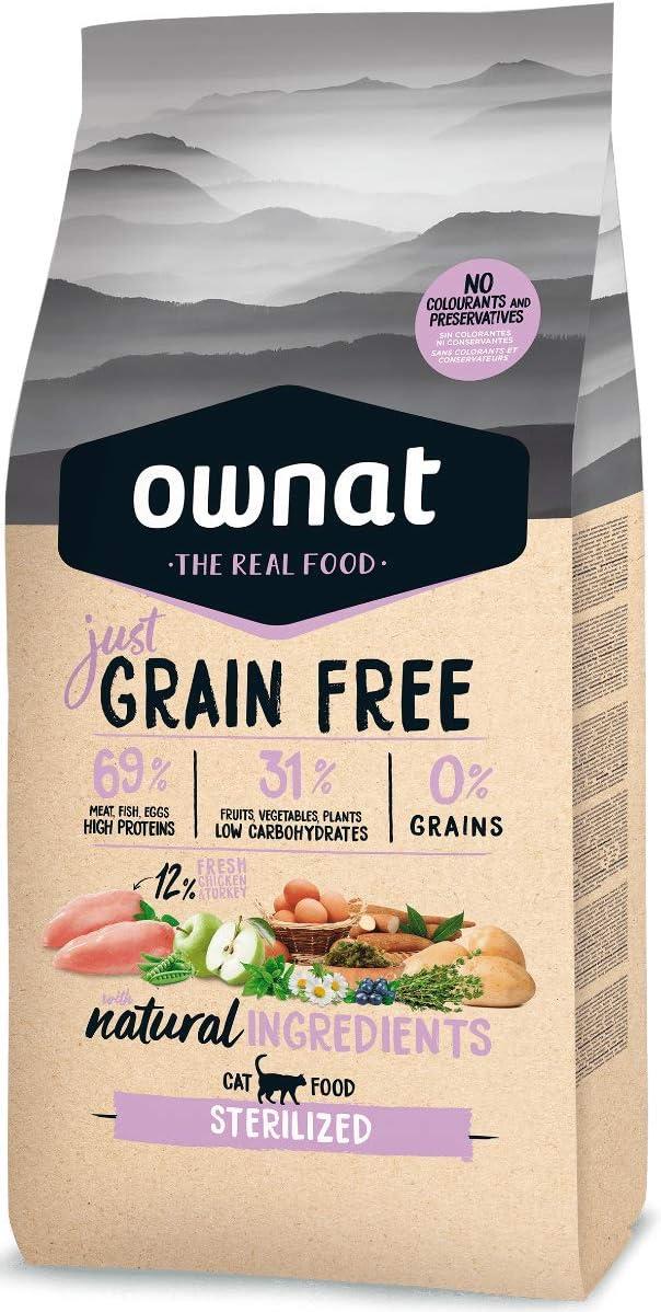 Ownat Alimento seco para Gatos esterilizados – 3 kg