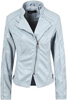 Fensajomon Women Zip Up Velvet Round Neck Embroidery Casual Sport Jacket Coat Outerwear
