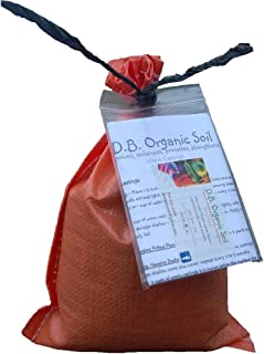 Premium Organic Worm Castings by Dirty Bil's. Best Plant Food and Fertilizer for Your Flowers, Garden, Pots, or Lawn. Pure 4 LB Bag to Treat 40 Sq. Feet. Odor-Free, Non-Toxic, and 100% Organic!