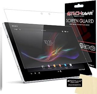 TECHGEAR [Pack med 2] ANTI GLARE skärmskydd för Sony Xperia Z2 surfplatta – matt skärmskydd skydd skydd med skärm rengörin...