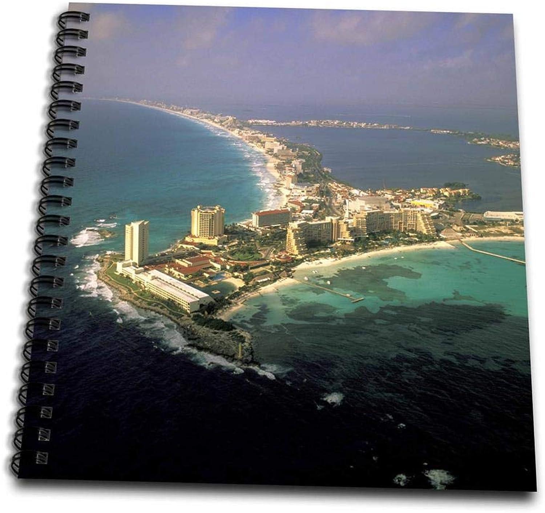 3dpink db_86861_2 Mexico, Quintana Roo, Cancun aerial-SA13 WBI0691-Walter Bibikow-Memory Book, 12 by 12