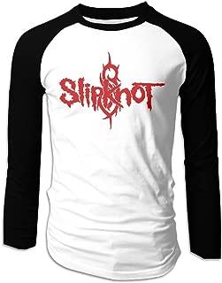 Slipknot Logo Men's Long Sleeve Baseball Raglan Shirt