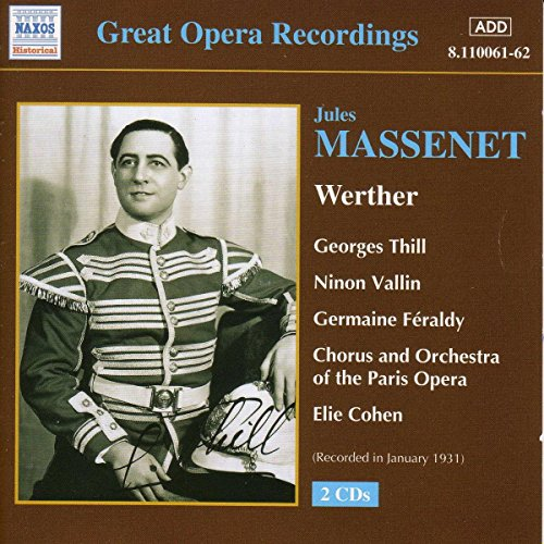 Great Opera Recordings - Werther