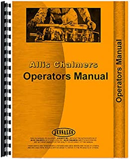 New Operator's Manual For Allis Chalmers 1600 Plow Tractors