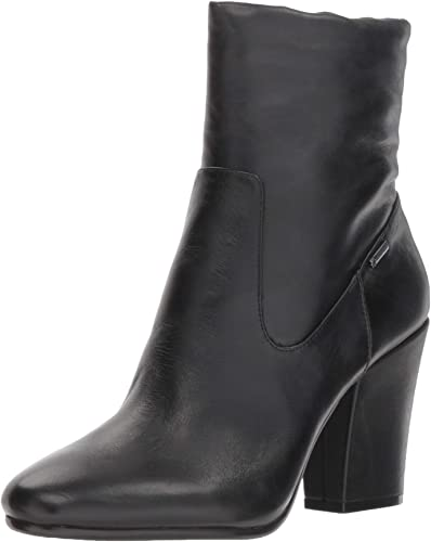 Kenneth Cole New York Wohommes Merrick Goretex Waterproof Heeled Ankle Ankle démarrageie démarrage, noir Leather, 10 M US  Nouvelle liste