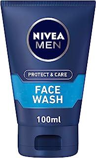 NIVEA, MEN, Face Wash, Protect & Care, Refreshing, 100ml
