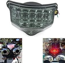 MZS Tail Light LED Integrated Turn Signal Blinker for Yamaha FZ6 FZ-6 FAZER FZ600 2004 2005 2006 2007 2008 2009 (Smoke)