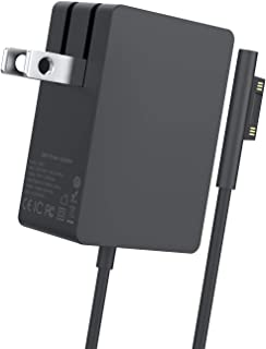 Surface Pro Charger, AYNEFF 44W/24W 15V 2.58A Surface Go Charger Wall Foldable for Microsoft Surface Pro 7 Pro 6 Pro 5 Pro 4 Pro 3, Surface Laptop Surface Book Surface Go, 5.9ft Charging Cable