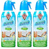 Dust-Off Falcon Professional Electronics Compressed Air Duster, 12 oz, 3 Pack, Model:246143