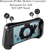 WUKUR Bluetooth PUBG Controller, Wireless Mobile Game Trigger for iPhone, Wireless PUBG Gamepads for iOS Systems, Bluetooth Mobile Phone Controller Compatible with PUBG/Rules of Survival