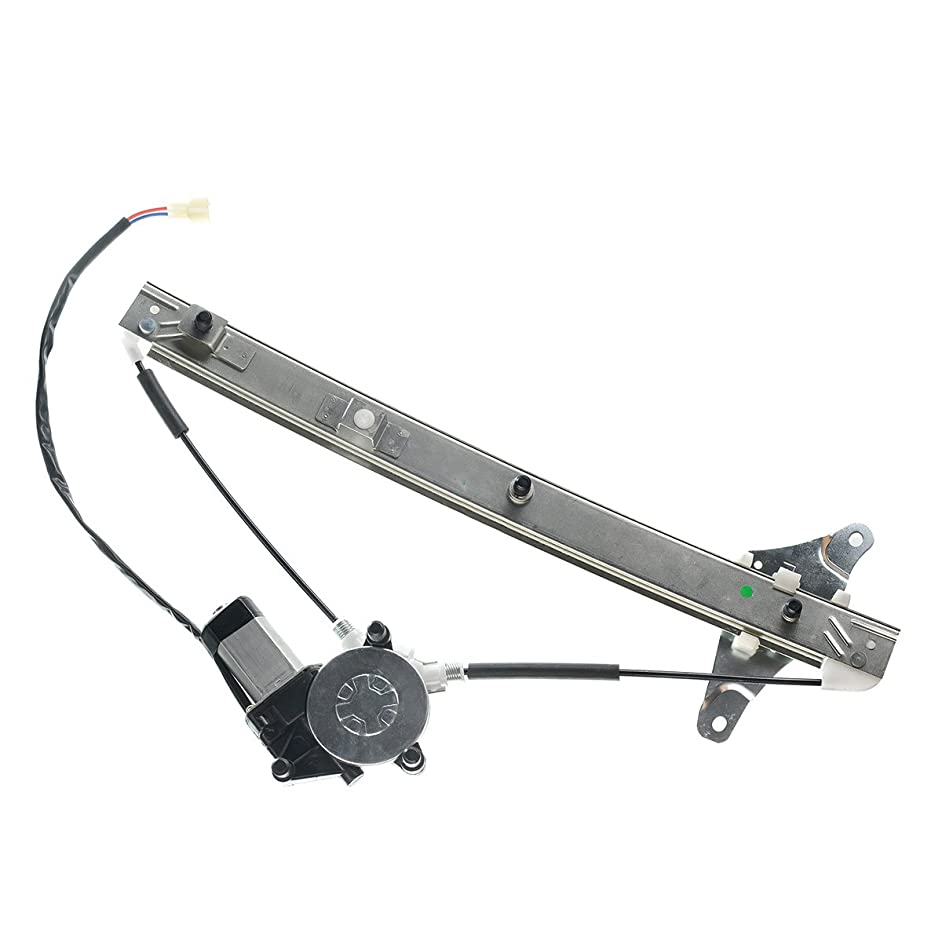 Front Left Driver Side Power Window Regulator With Motor for Toyota Camry 1992-1996 Sedan Wagon